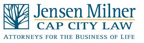 Jensen Milner | Cap City Law Logo